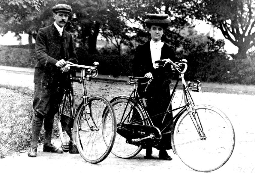 Online Bicycle Museum pedersen