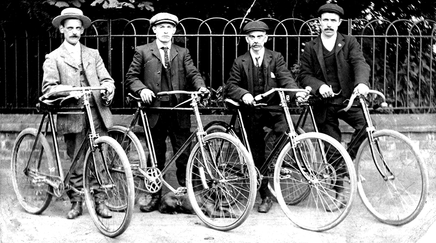 Online Bicycle Museum roadsters