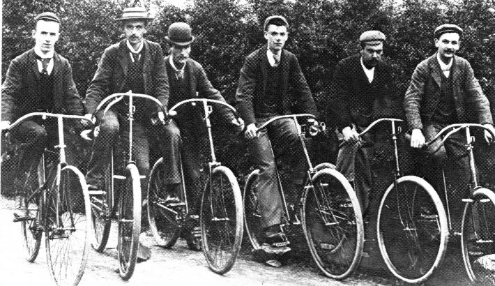 Online Bicycle Museum safety bicycles 1