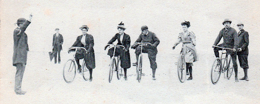 Online Bicycle Museum safety bicycles