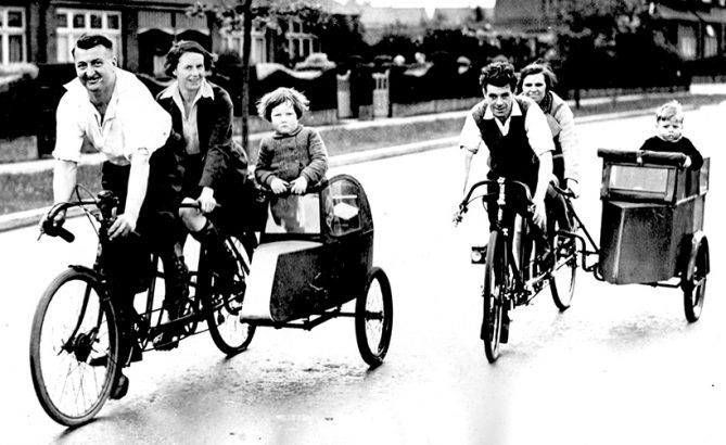 Online Bicycle Museum sidecars