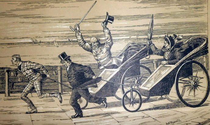 THE CYCLE RICKSHAW-EARLY PASSENGER VEHICLES