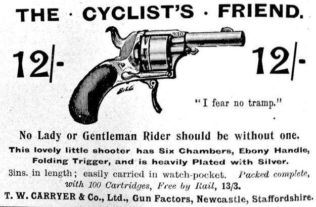 cyclist-pistol