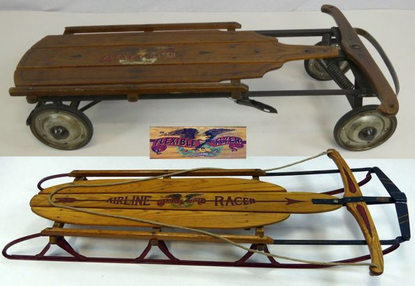 flexible flyer sled and coaster wagon