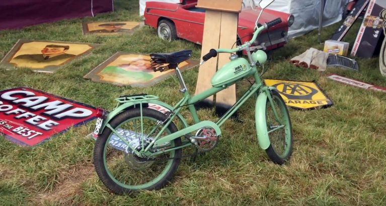 online bicycle museum video beaulieu autojumble