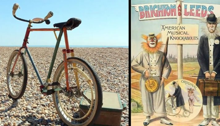 tribute to bicycle performers