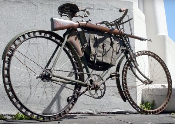ww1 german military bicycle