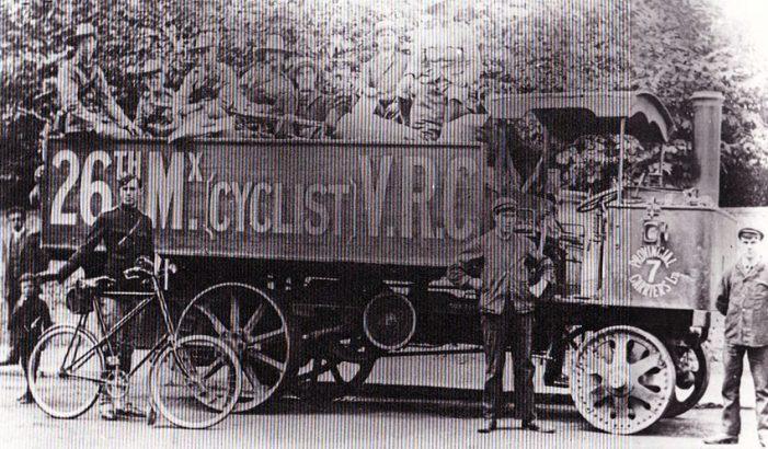 1 1908 Centaur Resilient 26TH MIDX CYCLISTS WW1