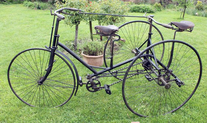 1888 HHC Premier Tandem Tricycle 68
