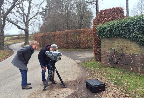 1890 Raleigh BBC filming 2016
