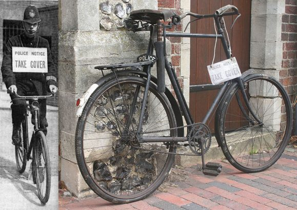 1913 James 28 Constabulary Bicycle 95