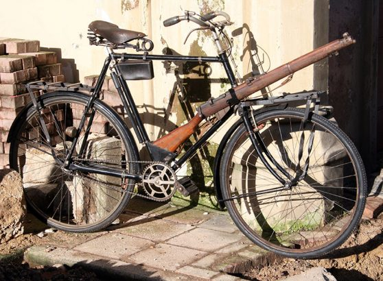 1915 Raleigh Military Bicycle WW1 05