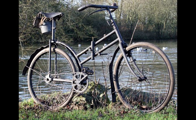 WW1 Peugeot CAPITAINE GERARD military bicycle 1