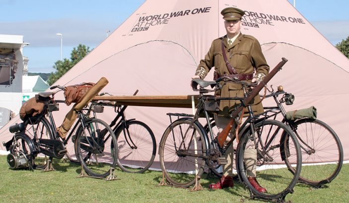 WW1 military bicycle event hire 01