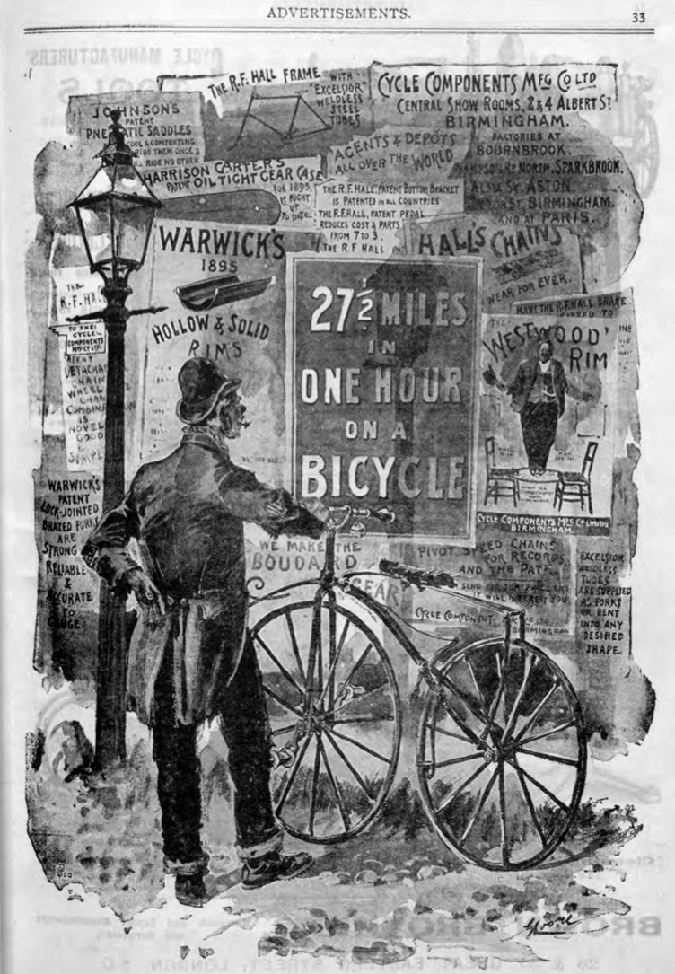 velocipede COMPONENTS ad