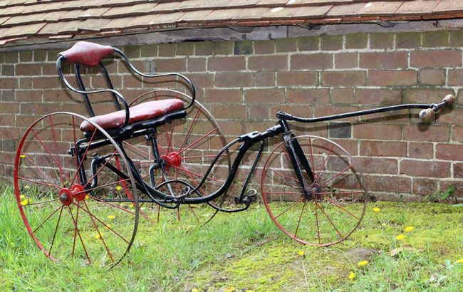 1890s Gendron Treadle Tricycle 12