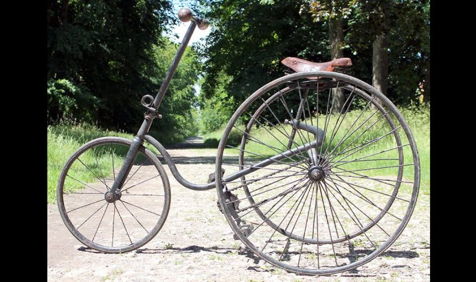 1891 Ellis RHODA juvenile tricycle 0