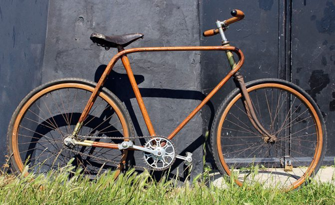 1949 Fratelli Vianzone Wooden Bicycle 05