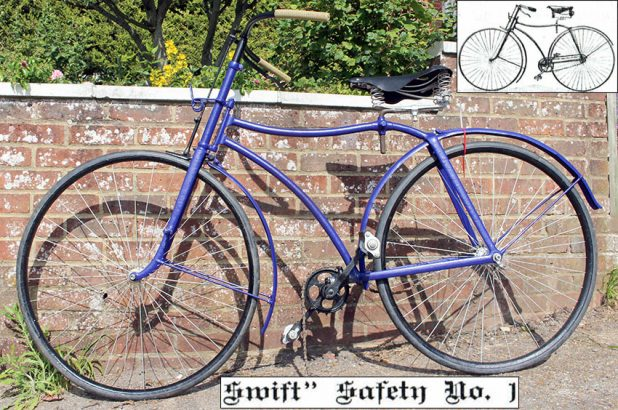 1889 Coventry Machinists SWIFT No 1 Safety 0