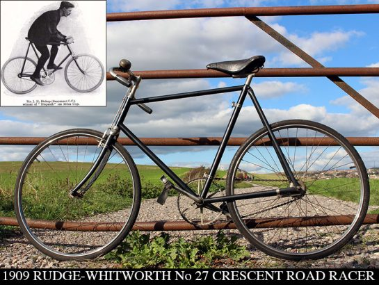 1909 Rudge-Whitworth No 27 Crescent Road Racer 02