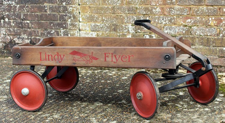 1929 LINDY FLYER Coaster Wagon 05