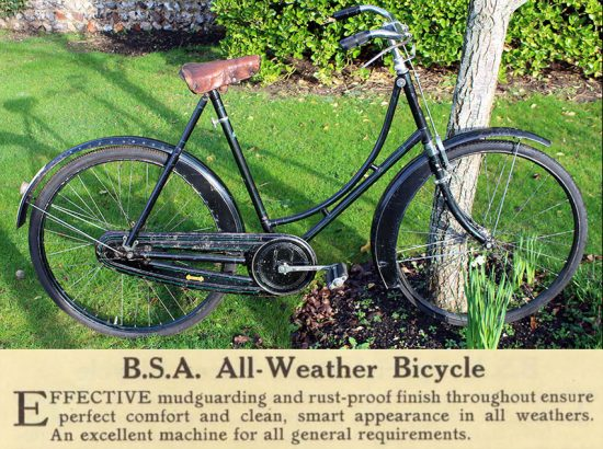 1923 BSA All-Weather Ladies' Bicycle 0