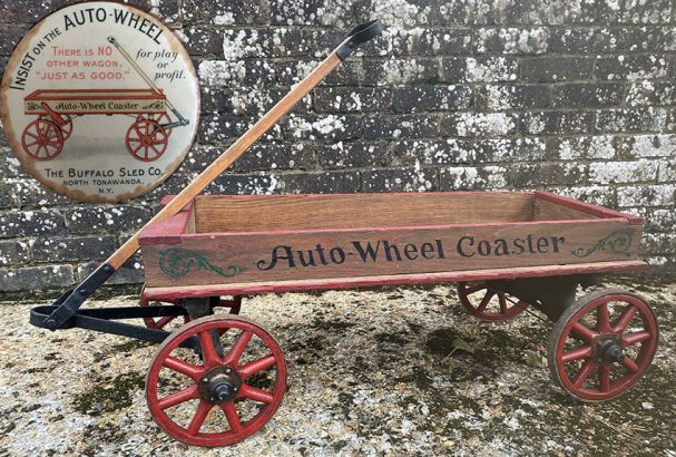 1919 auto-wheel coaster wagon