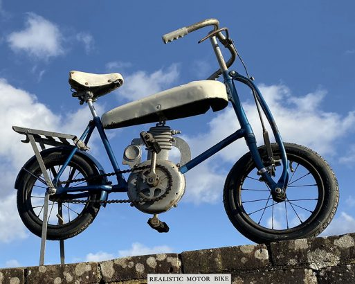 1930s Children's Pedal Motorcycle