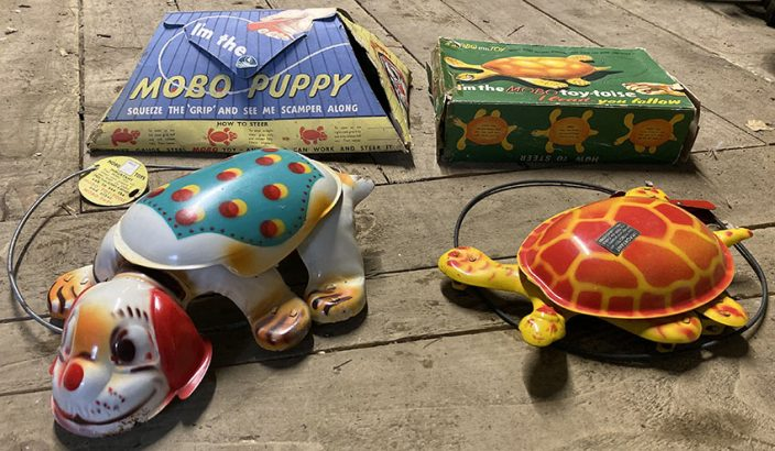 1950s MOBO Puppy & Toy-toise 5