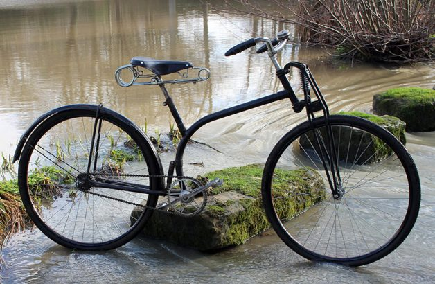1930 'S Frame' Suspension (Spring-frame) Bicycle 05