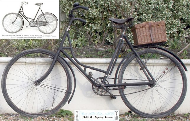 1902 BSA Springframe