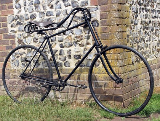 1894 Solid Tyre Safety Bicycle 05