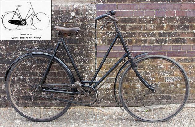 1902 Lady's First Grade Raleigh 0