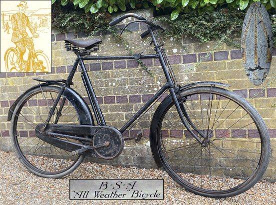 1918 BSA All Weather Bicycle 0