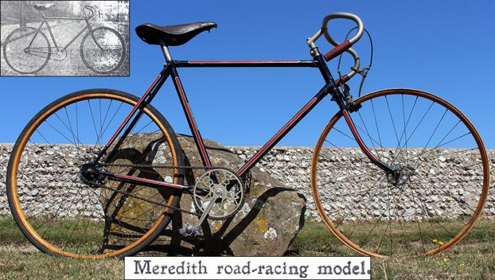 1922 Meredith Bastide Racing Bicycle 0
