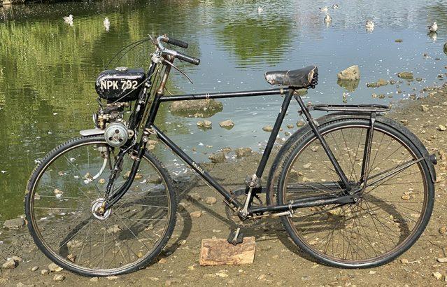 1949 GYS Motamite Cyclemotor 37