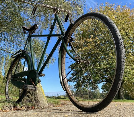 1937 Raleigh TALLEST 30 inch X Frame 05