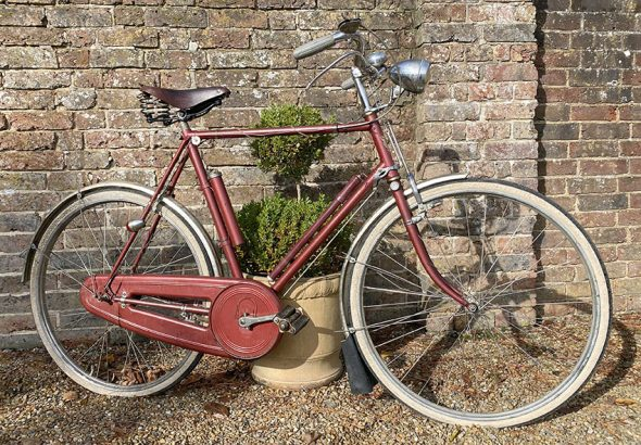 1959 Rudge de Luxe Super Safety Tourist 76