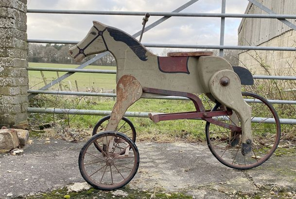 1926 DANDY DOBBIN Horse Tricycle 37