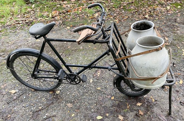 1935 Elswick Milkman Carrier Bicycle 08