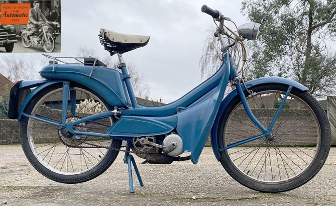 1966 Raleigh Runabout Moped 07