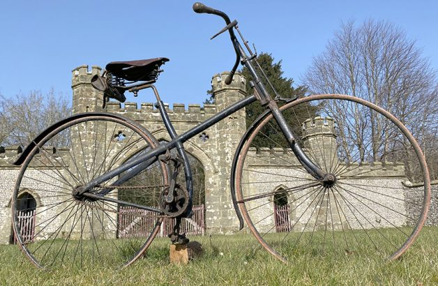 1887 Humber crossframe safety bicycle 05