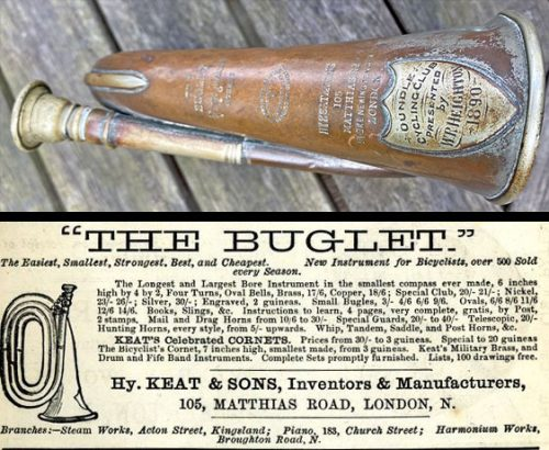 Advertisement, Bicycle Bugle or Buglet