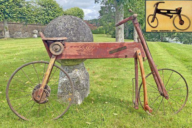 1880s Mergomobile Wooden Bicycle 4 copy copy