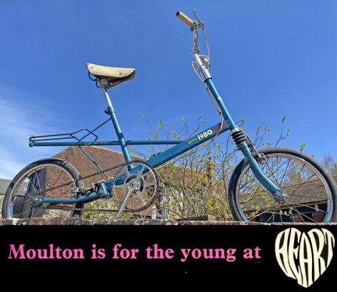 1970s Tri-ang 'Junior 1980' Moulton 05 copy