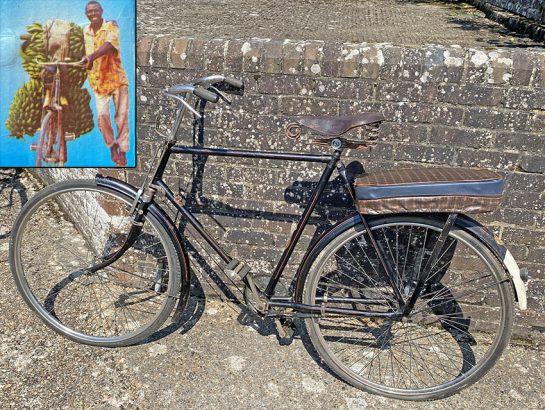 1980s RMI 'Boda-Boda' Ugandan Bicycle Taxi 0
