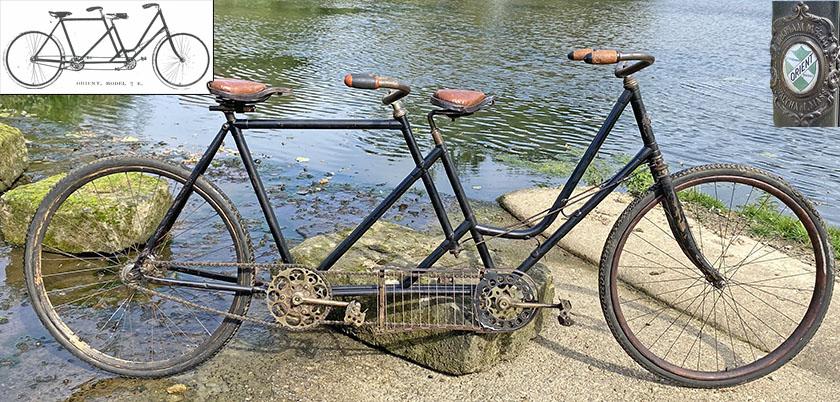 1899 Orient Rear-steering Tandem 0